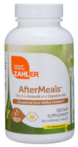 Zahler's - AfterMeals - Kosher Digestive & Acid Reflux Formula - Strawberry Banana Flavor - 100 Chewies