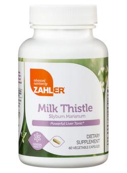 Zahler's - Milk Thistle - Liver Formula - 60 Capsules - DoctorVicks.com
