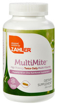 Zahler's - MultiMite - High Potency Two-A-Day Multivitamin & Mineral - 250 Capsules - DoctorVicks.com