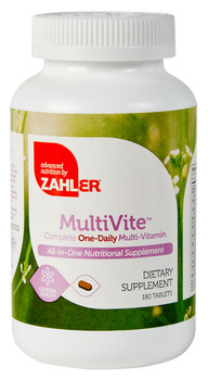 Zahler's - MultiVite - One-A-Day Multivitamin & Mineral - 90 Tablets - DoctorVicks.com