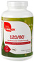 Zahler's - 120/80 - Blood Pressure Formula - 180 Capsules - DoctorVicks.com