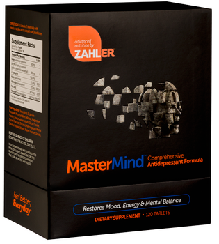 Zahler's - MasterMind - Depression Reliever - 120 Tablets - DoctorVicks.com