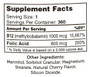 Zahler's - B12 Energizer 1000 mcg - as Methylcobalamin - Cherry Flavor -  360 Lozenges