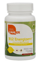 Zahler's - B12 Energizer+ 5000 mcg - as Methylcobalamin - Cherry Flavor - 120 Lozenges - DoctorVicks.com