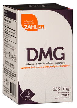 Zahler's - DMG 125 mg - Brain & Energy Formula - Cherry Flavor - 90 Chewies - DoctorVicks.com