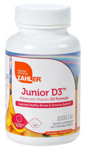 Zahler's - Junior D3 1000 IU - Orange Flavor - 120 Chewies - DoctorVicks.com