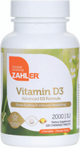 Zahler's - Vitamin D3 2000 IU - Orange Flavor - 120 Chewies - DoctorVicks.com