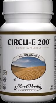 Maxi Health - Circu-E 200 IU - Vitamin E - 90 Tablets - DoctorVicks.com