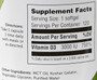 Zahler's - Vitamin D3 3000 IU - 120 Softgels - Enlarged Supplement Facts - DoctorVicks.com
