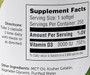 Zahler's - Vitamin D3 3000 IU - 250 Softgels - Enlarged Supplement Facts - DoctorVicks.com