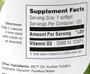 Zahler's - Vitamin D3 5000 IU - 120 Softgels - Enlarged Supplement Facts - DoctorVicks.com