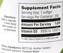 Zahler's - Vitamin D3 5000 IU - 250 Softgels - Enlarged Supplement Facts - DoctorVicks.com