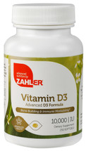 Zahler's - Vitamin D3 10000 IU - 250 Softgels