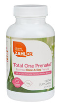 Zahler's - Total One Prenatal - 60 Capsules - DoctorVicks.com