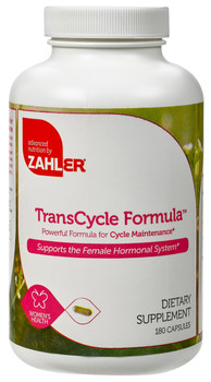 Zahler's - TransCycle Formula - For Women - 180 Capsules - DoctorVicks.com
