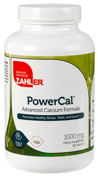 Zahler's - PowerCal Tabs - Calcium Formula - 180 Tablets - DoctorVicks.com