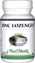 Maxi Health - Zinc Lozenges - Cherry Flavor - 60 Lozenges - DoctorVicks.com