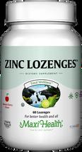 Maxi Health - Zinc Lozenges - Cherry Flavor - 60 Lozenges