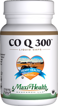 Maxi Health - Co Q 300 mg - 60 Liquid MaxiCaps