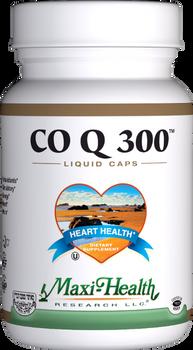 Maxi Health - Co Q 300 mg - 60 Liquid MaxiCaps