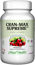 Maxi Health - Cran-Max Supreme - Cranberry 500 mg - 60/120 MaxiCaps - DoctorVicks.com