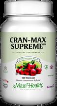 Maxi Health - Cran-Max Supreme - Cranberry 500 mg - 60/120 MaxiCaps - DoctorVicks.com