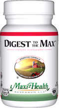 Maxi Health - Digest To The Max - Digestive Formula - 60 MaxiCaps - DoctorVicks.com