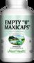"Maxi Health - Empty ""0"" MaxiCaps - Large Kosher Empty Vegetarian Capsules - 250 MaxiCaps - DoctorVicks.com"