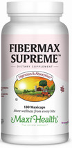 Maxi Health - Fibermax Supreme - Constipation Formula - 180 MaxiCaps - DoctorVicks.com