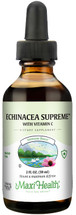 Maxi Health - Organic Liquid Echinacea Supreme With Vitamin C - Natural Antibiotic - 2 fl oz - DoctorVicks.com