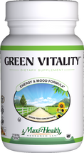 Maxi Health - Green Vitality - Energy Formula - 180 Tablets - DoctorVicks.com