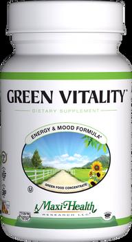 Maxi Health - Green Vitality - Energy Formula - 180 Tablets - DoctorVicks.com