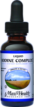 Maxi Health - Liquid Iodine Complex - as Potassium Iodine 300 mcg - 2 fl oz - DoctorVicks.com