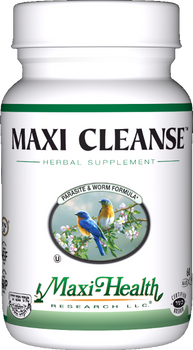 Maxi Health - Maxi Cleanse - Parasite Formula - 60 MaxiCaps - New - DoctorVicks.com