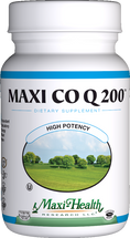 Maxi Health - Maxi Co Q 200 mg - 60 MaxiCaps - DoctorVicks.com