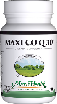 Maxi Health - Maxi Co Q 30 mg - 90 Liquid MaxiCaps - DoctorVicks.com