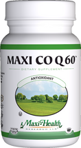 Maxi Health - Maxi Co Q 60 mg - 60 MaxiCaps - DoctorVicks.com
