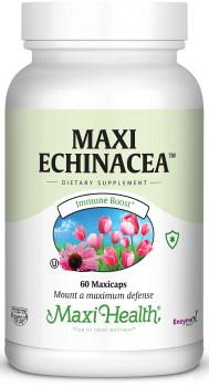 Maxi Health - Maxi Echinacea - Cold & Flu Formula - 60/120 MaxiCaps - DoctorVicks.com