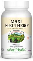 Maxi Health - Maxi Eleuthero - Energy Formula - 60 MaxiCaps - DoctorVicks.com