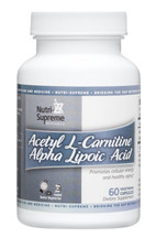 Nutri Supreme - Acetyl L-Carnitine & Alpha Lipoic Acid - 60 Capsules - Front - DoctorVicks.com