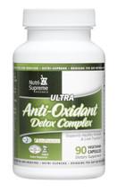 Nutri Supreme - Ultra Anti-Oxidant Detox Complex - 90 Capsules - Front - DoctorVicks.com