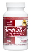 Nutri Supreme - AprésFlex - Boswellia Serrata Extract 100 mg - 90 Capsules - Front - DoctorVicks.com