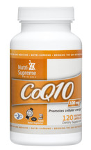 Nutri Supreme - Coenzyme Q10 100 mg - 120 Capsules - Front - DoctorVicks.com