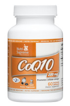 Nutri Supreme - Coenzyme Q10 200 mg - 60 Capsules - Front - DoctorVicks.com