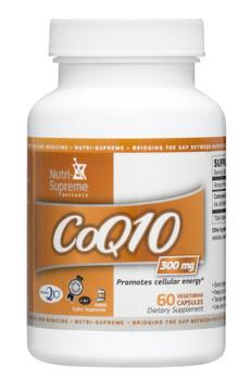 Nutri Supreme - Coenzyme Q10 300 mg - 60 Capsules - Front - DoctorVicks.com