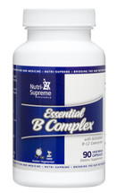 Nutri Supreme - Essential B Complex - 90 Capsules - Front - DoctorVicks.com