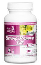Nutri Supreme - Evening Primrose Oil 1000 mg - 100 Softgels - Front - DoctorVicks.com