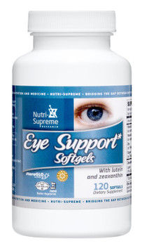 Nutri Supreme - Eye Support Softgels - AREDS Formula - 120 Softgels - Front - DoctorVicks.com
