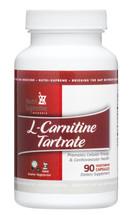 Nutri Supreme - L-Carnitine Tartrate - 90 Capsules - Front - DoctorVicks.com