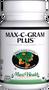 Maxi Health - Max-C-Gram Plus - Vitamin C & Bioflavonoids - 90/180 Tablets - DoctorVicks.com